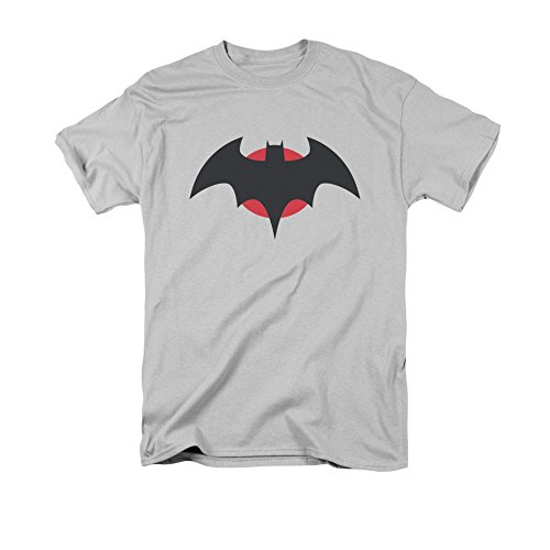 justice+league Products : Justice League Thomas Wayne Mens Short Sleeve Shirt Silver MD