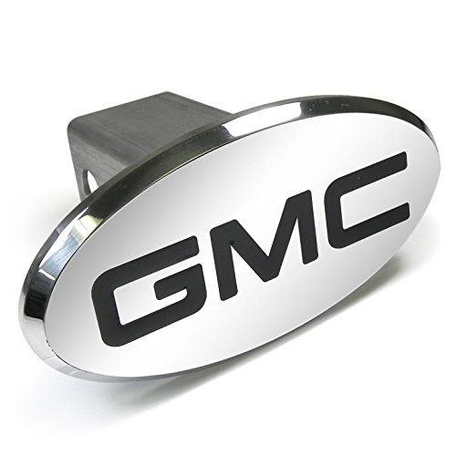 - General Motors GMC Engraved Oval Aluminum Tow Hitch Cover