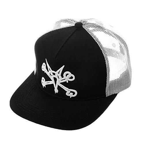 Trucker White Gorra Black Puff Bones xHnqwagYO4