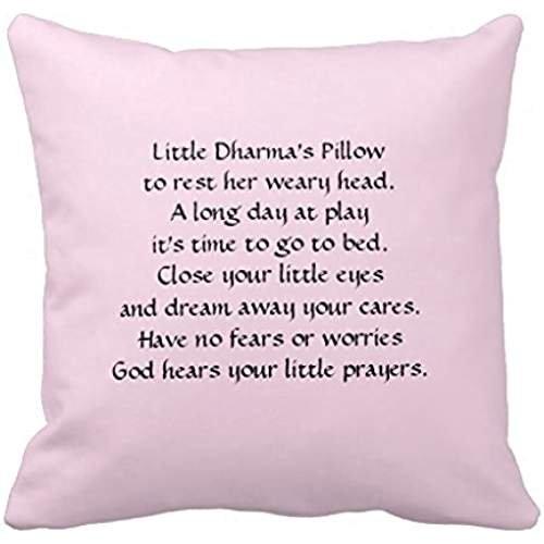 Funda de almohada de oración para niños: Amazon.es: Hogar
