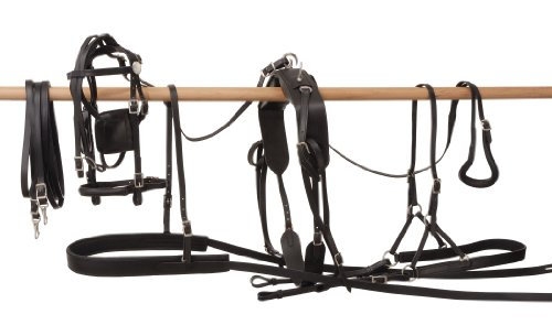 Tough 1 Leather Harness, Pony