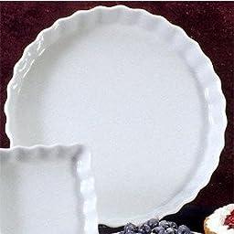 BIA Cordon Bleu 1-Quart Round Quiche, White