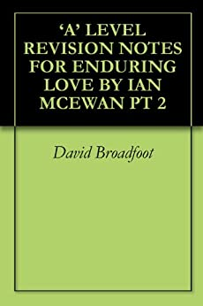 spark notes enduring love I think i'm right, therefore i am adam mars-jones  enduring love starts with a set-piece, a ballooning accident whose most agonising aspect is that five men.