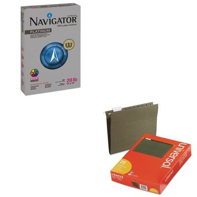 KITSNANPL1728UNV14115 - Value Kit - Navigator Platinum Paper (SNANPL1728) and Universal Hanging File Folders (UNV14115)