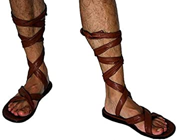 Karabu Sandali caligae Romani Scarpe Romane Soldato con