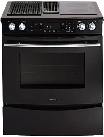 jenn air range. \u0026quot;jenn-air jes9750ba 30\u0026quot;\u0026quot; slide-in electric downdraft range jenn air r