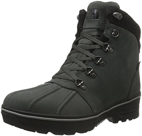 The North Face M Ballard Duck Boot, Stivali da Neve Uomo Multicolore (Grigio/Dkshdwgy/Prsnbl)