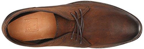 FRYE Mens Oscar Chukka Boot Sand Textured Full Grain