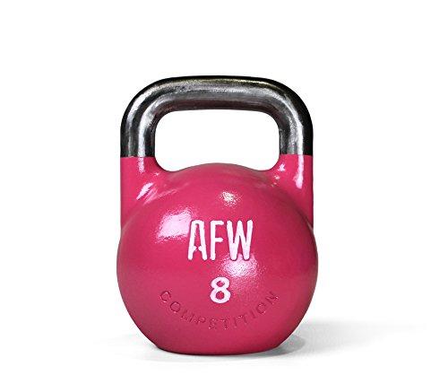 Color U AFW 105151 105151-Kettlebell 8 kg Rosa Hombres Talla M