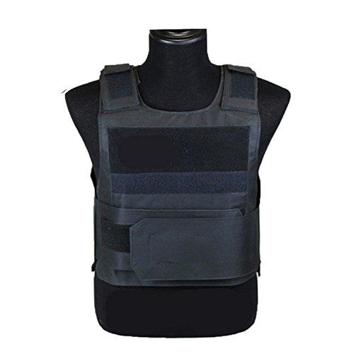 Edtara Chaqueta de Armadura Ligera táctica SWAT Chaleco Ropa Protectora para la policía