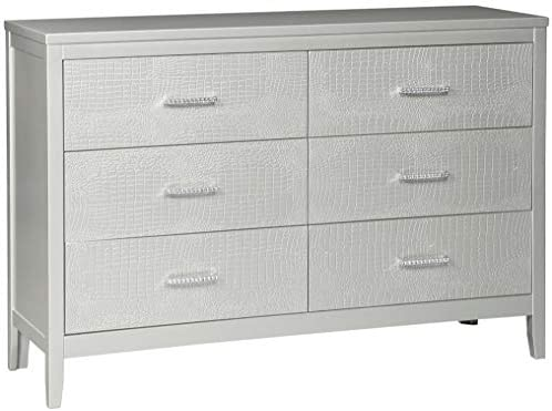 Ashley Furniture Signature Design – Olivet Dresser – Silver