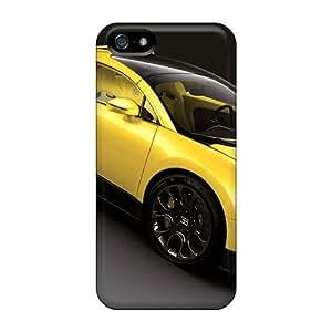 High Grade Chuxia Flexible Tpu Case For Iphone 5/5s - Bugatti Veyron 16 4 Grand Sport 2011