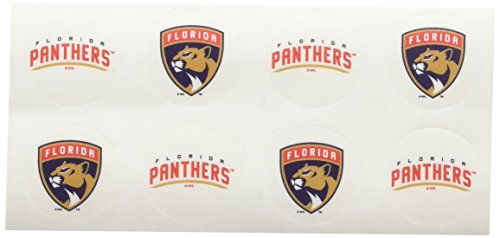 NHL Florida Panthers Face Tattoos, 8-piece Set (Art Panthers Body)