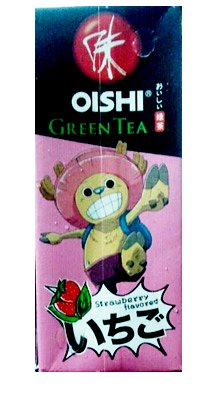 One Piece Pirate Warriors Manga : UHT Green Tea Ready to Drink Strawberry 250 ml - One Piece Chopper Pattern Style ()