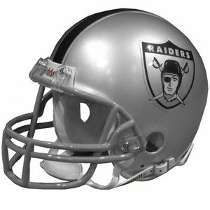 (Riddell Oakland Raiders AFL Authentic Pro Line Helmet)