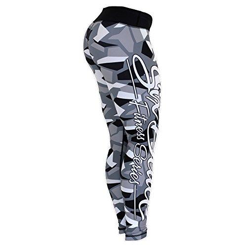 Six Deuce Grey Camo Fitness Legging