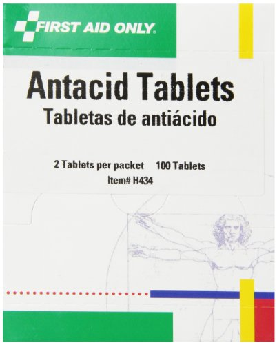 First Aid Only Antacid Tablets