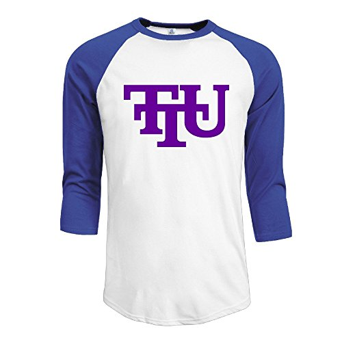 Tennessee Tech University Logo Boy Half Sleeve Tshirts Crew Neck Tee-shirt
