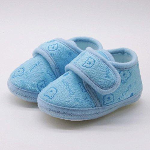 wuayi Baby Mädchen Lauflernschuhe Grün Khaki Blau