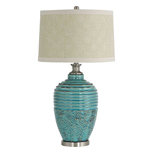 Aspire Table Lamp Beta Ceramic, Teal (Table Lamp Aspire)