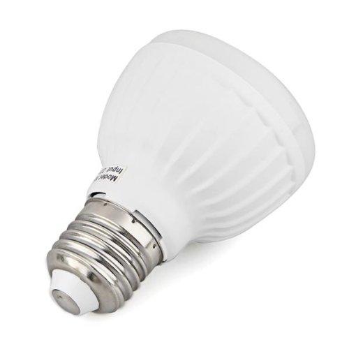 Lámpara Bombilla Luz E27 25 LED 3528 SMD Sensor Movimiento Blanco Cálido: Amazon.es: Iluminación
