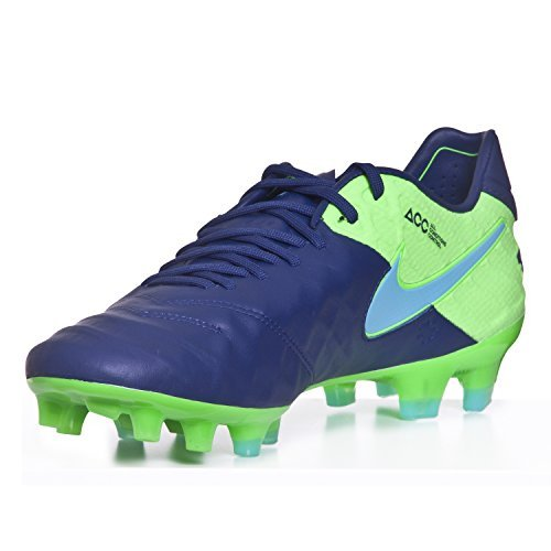 NIKE Men's Tiempo Legend VI FG Soccer Cleat (SZ. 8) Coastal Blue - Nike Mens Tiempo Legend