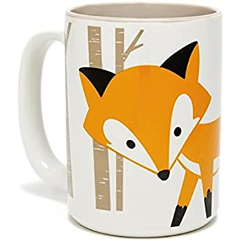 Foxy Coffee Mug White