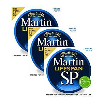 3 packs of martin msp7200 lifespan sp medium acoustic guitar strings musical. Black Bedroom Furniture Sets. Home Design Ideas
