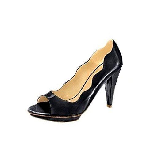 CHILLANY Peeptoe - Sandalias de Vestir Mujer negro - negro