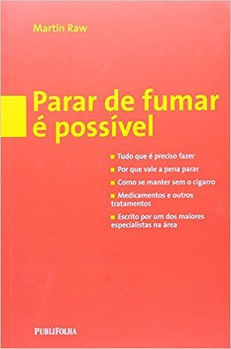 Parar de Fumar É Possível (Português)