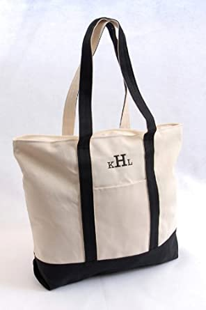 Amazon.com | Personalized Beach Tote Bag | Travel Totes