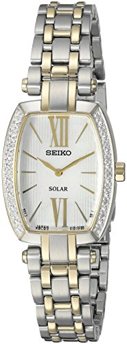 (Seiko Women's SUP284 Tressia Analog Display Japanese Quartz Two Tone Watch)