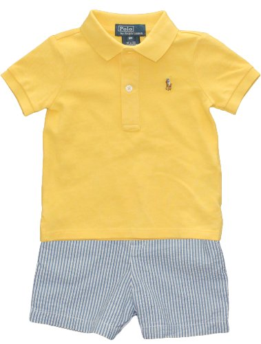Polo Ralph Lauren Infant Boys Polo and Seersucker Short Set