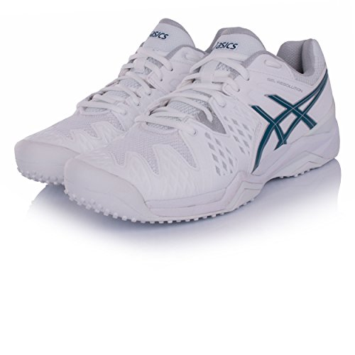 Asics Gel-Resolution 6 Grass – Zapatillas Tenis Hombre – Men s Tenis Shoes – e50uj 0148