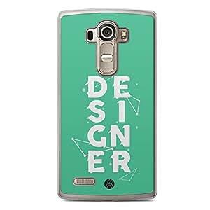Designer iPhone LG G4 Tranparent Edge Case - Designer