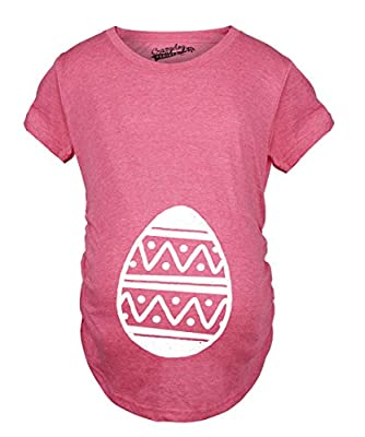 Maternity Easter Egg Bump Funny Spring Girl Pregnancy Announcement T shirt