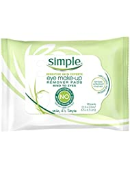 Simple Kind to Eyes Eye Makeup Remover Pads, 30 ct