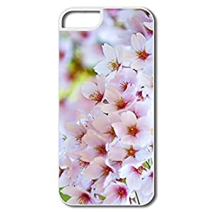 IPhone 5/5S Case, Colours Spring White Covers For IPhone 5