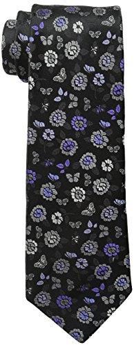 BUGATCHI Mens Tiziano Tie, Black, One Size