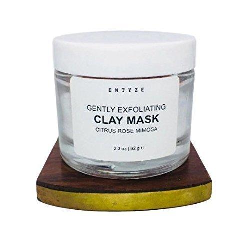 Rose Clay Mask - Face Mask - 2.3 oz by ENTYZE