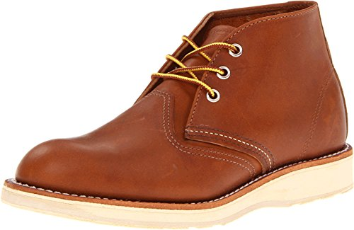 Red Wing Men's Heritage Work Chukka,Oro-iginal Leather,US 9 2E (Chukka Wing Red)