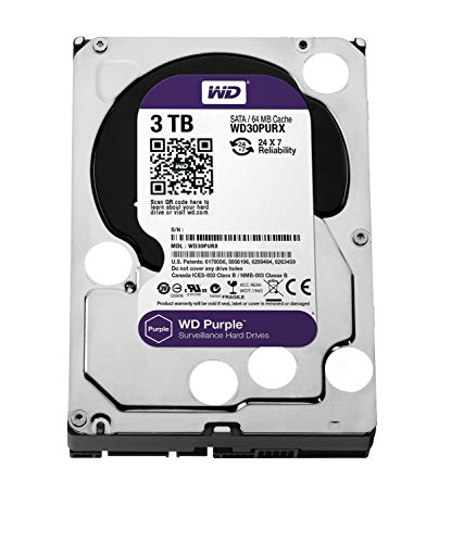 WD-Purple-3TB-Surveillance-Hard-Disk-Drive-5400-RPM-Class-SATA-6-Gbs-64MB-Cache-35-Inch-WD30PURX
