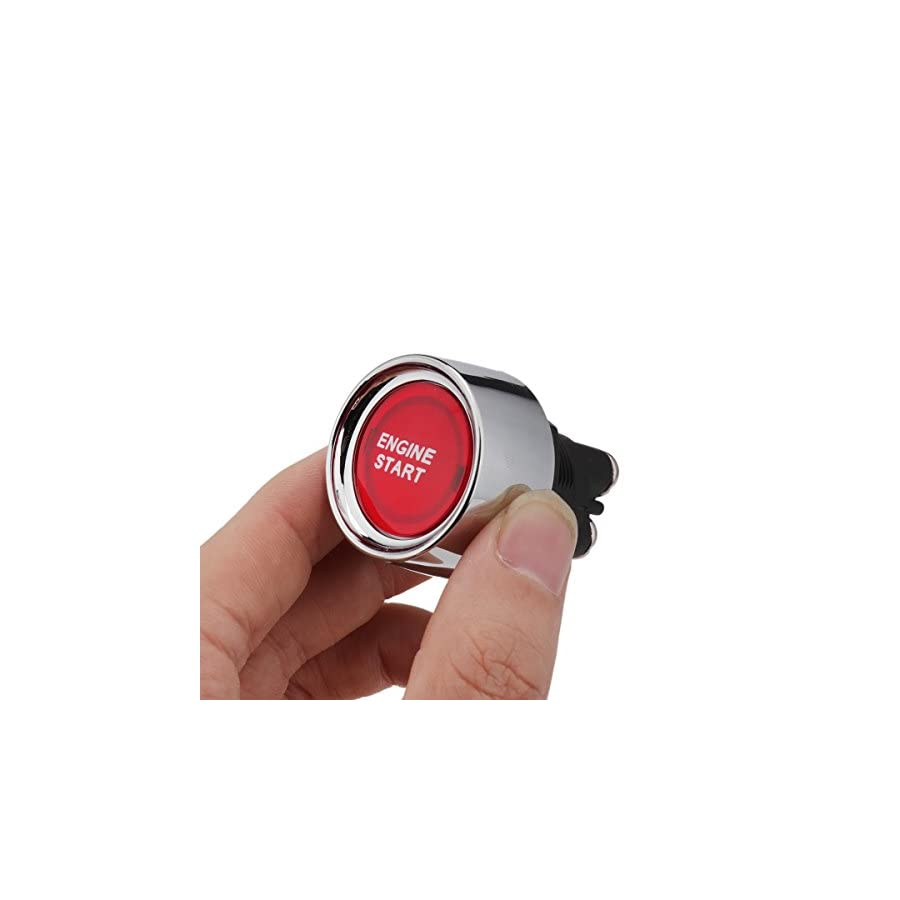 Liangui Auto Car Engine Start Ignition Starter Push Button Switch DC 12v 50A