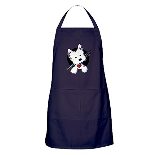 - CafePress Artist Helper Westie Kitchen Apron with Pockets, Grilling Apron, Baking Apron