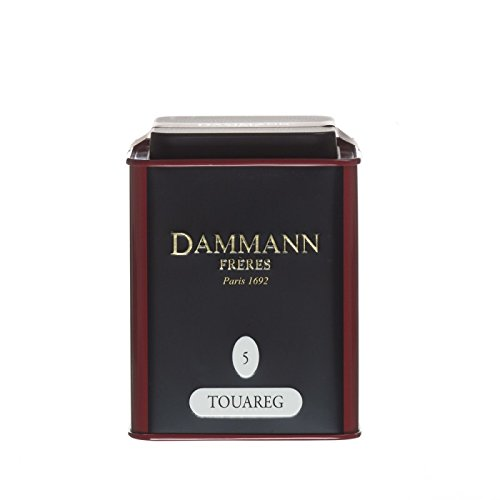 DAMMANN FRERES - Touareg - Loose Tea tin - 90gr / 3.17oz. Tea tin ()
