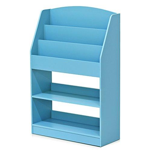 Furinno FR16118LB KidKanac Bookshelf, Light Blue