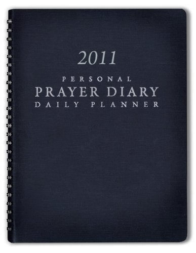 2011 Personal Prayer Diary and Daily Planner (Black) by YWAM Publishing