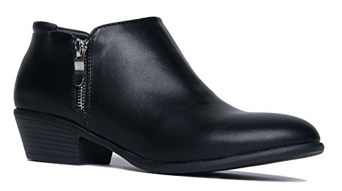 Low Western Bootie 6.5 B(M) US