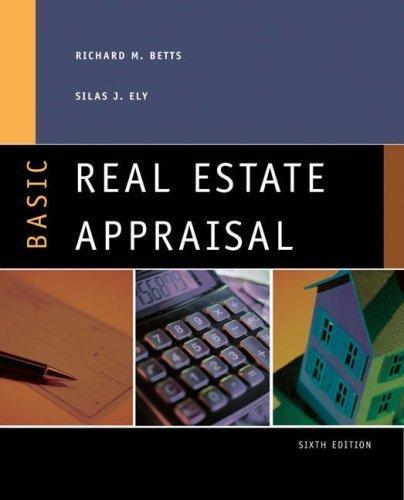 Basic Real Estate Appraisal: 6th (Sixth) Edition (Real Appraisal Basic Estate)