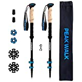 PEAK WALK Trekking Poles - Ultra-light 7.5 oz